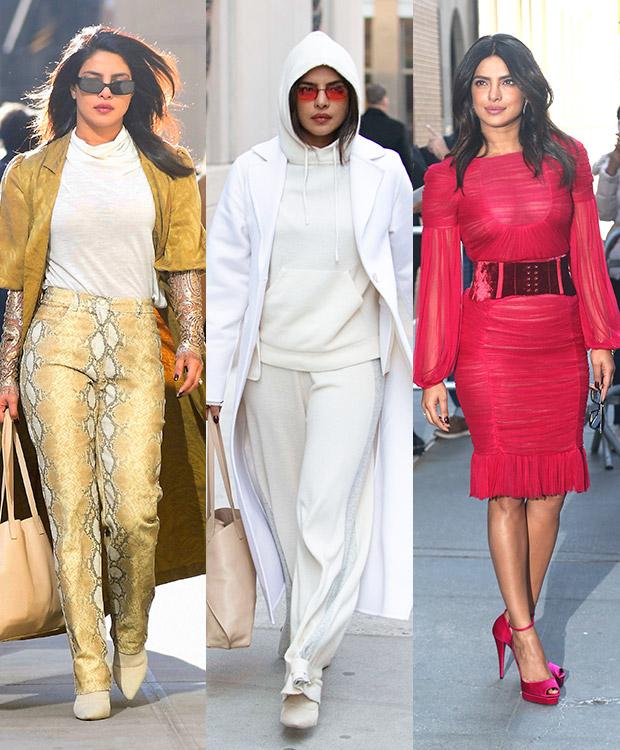 Priyanka Chopra Snakeskin Outfit
