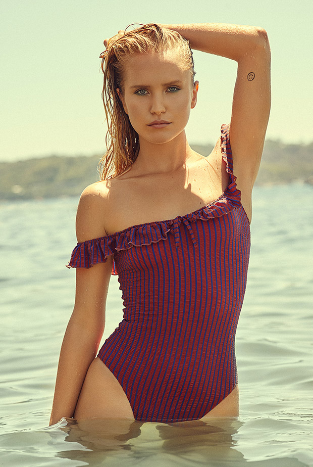 Sailor Brinkley Cook For Solid & Striped Swimsuit