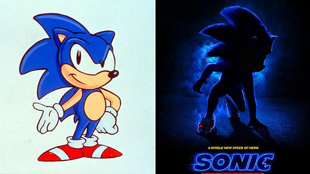 Sonic The Hedgehog New Design