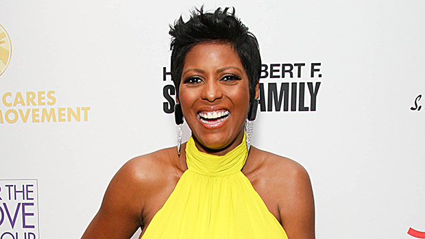 Tamron Hall pregnant married