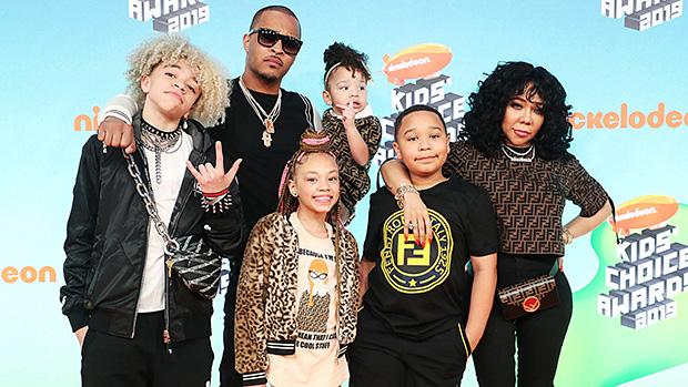 T.I. & Tiny 's family Kids Choice Awards 2019