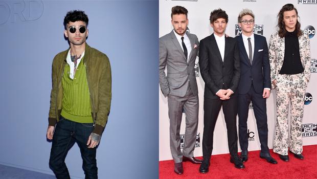 Zayn Malik One Direction Feud