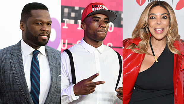 50 Cent, Charlamagne Tha God & Wendy Williams