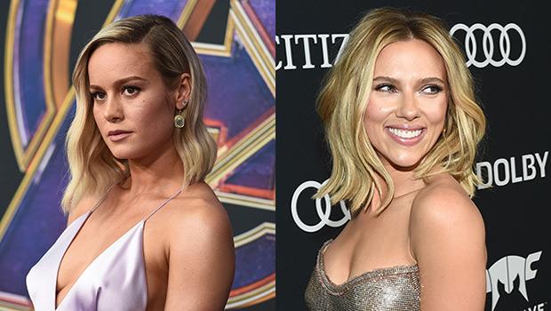 Brie Larson Scarlett Johansson Avengers
