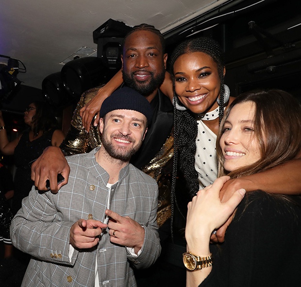 Dwyane Wade, Gabrielle Union, Justin Timberlake & Jessica Biel
