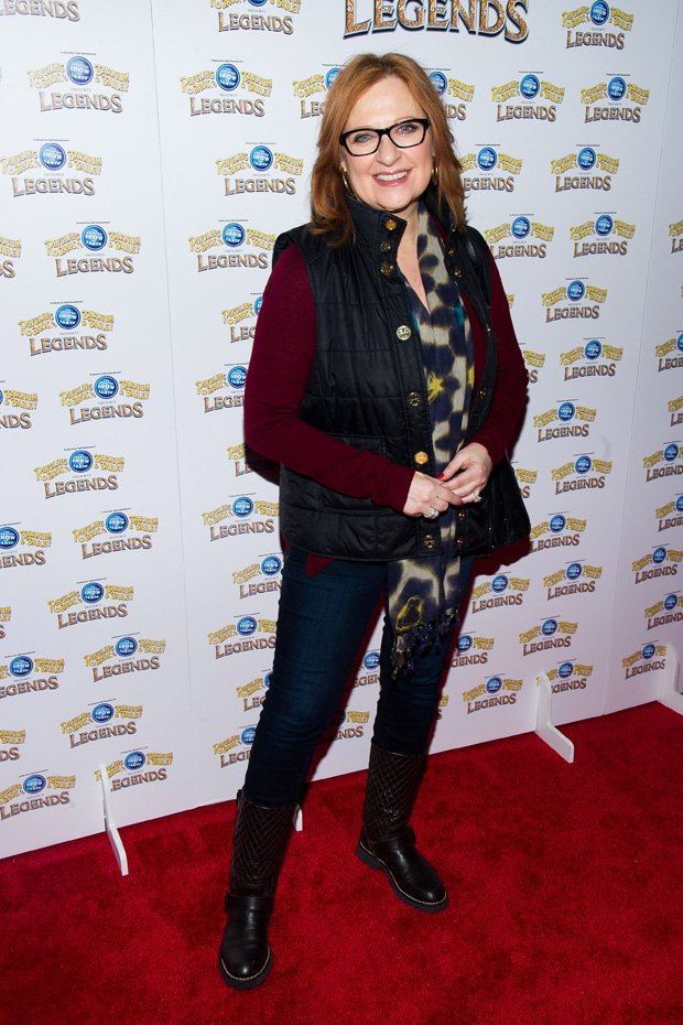 Caroline Manzo attends the Ringling Bros. and Barnum & Bailey Present Legends circus on in New York Ringling Bros. and Barnum & Bailey Circus Opening Night, Brooklyn, USA