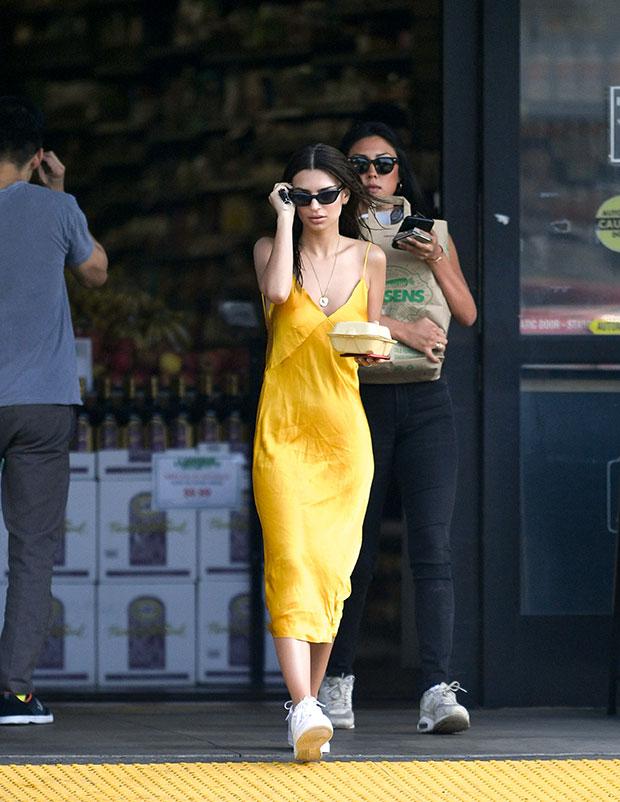 Celebs Wearing Slip Dresses \u0026 Sneakers