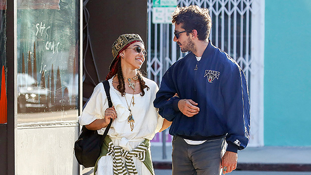 FKA Twigs & Shia LaBeouf Show PDA While Shopping in Los Angeles – Hollywood  Life