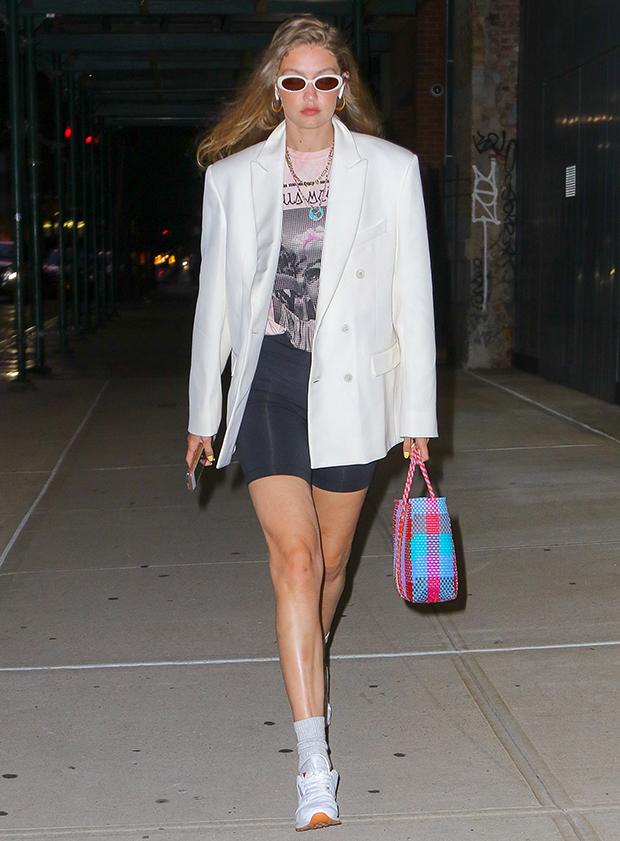 celebrities in blazers
