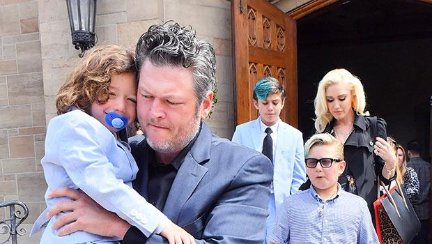 Gwen Stefani Kids Blake Shelton