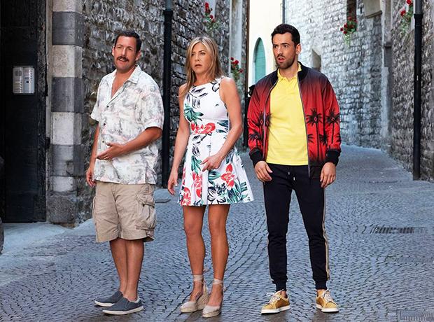 Jennifer Aniston & Adam Sandler In Netflix's 'Murder Mystery'
