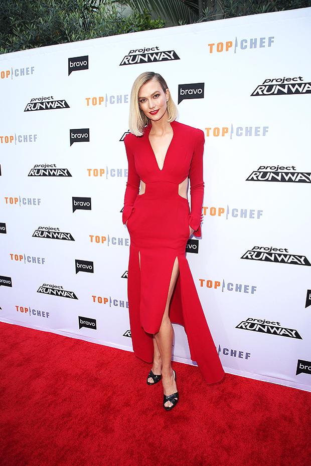 Karlie Kloss Cutout Dress