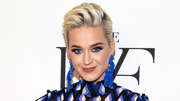 Katy Perry S Long Hair Debuts New Shoulder Length Honey Waves Hollywood Life