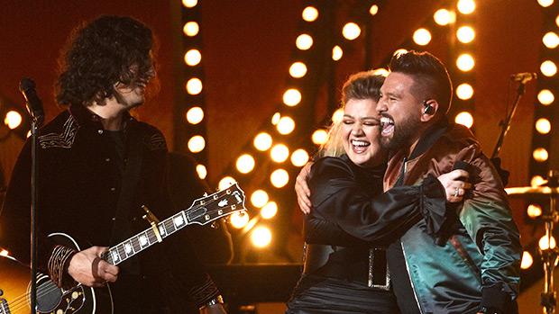 Kelly Clarkson & Dan + Shay Performance ACM Awards