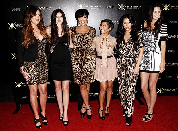Kris Jenner daughters six figures promote