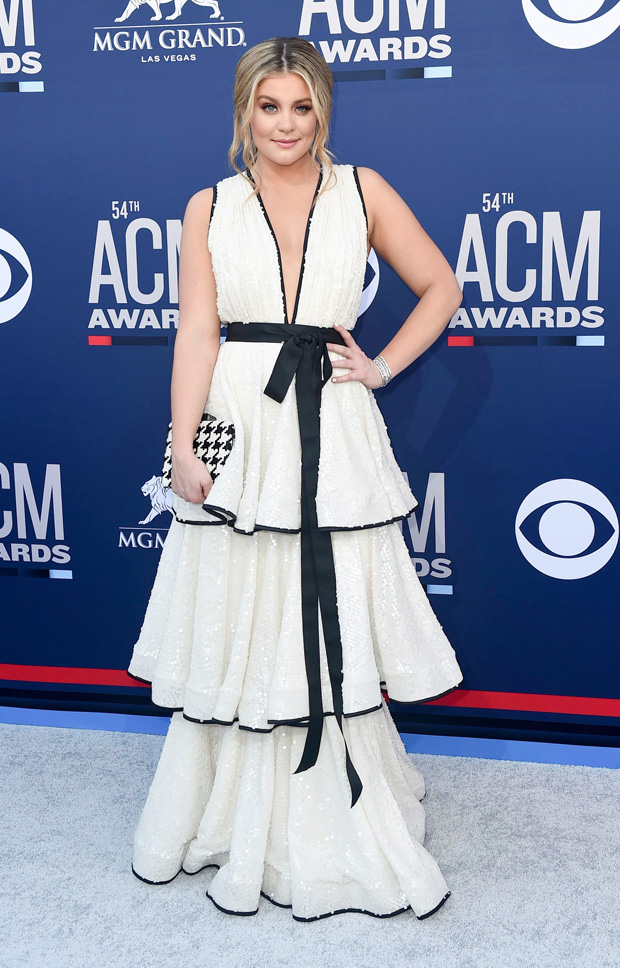 Lauren Alaina arrives at the 54th annual Academy of Country Music Awards at the MGM Grand Garden Arena, in Las Vegas54th Annual Academy of Country Music Awards - Arrivals, Las Vegas, USA - 07 Apr 2019