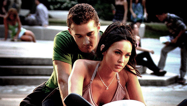 megan fox shares shia labeouf photo from transformers 13 yrs ago hollywood life hollywood life