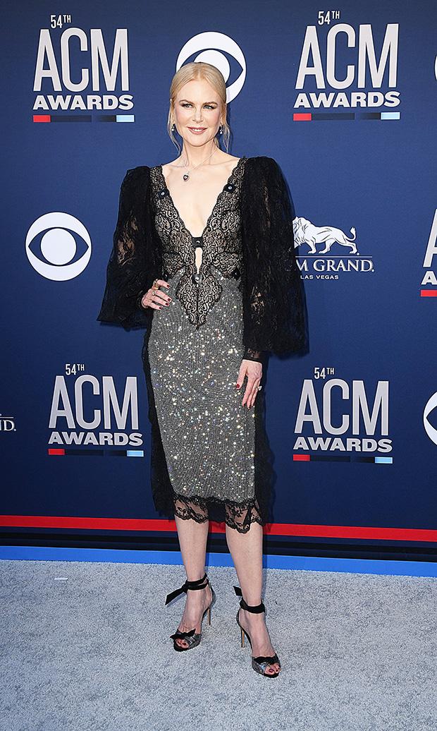 Nicole Kidman ACM Awards Dress