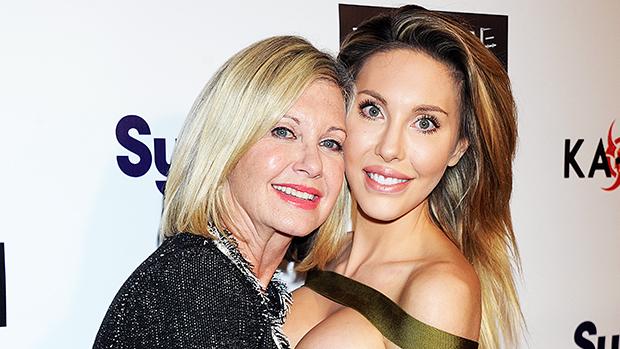 Olivia Newton-John & daughter Chloe Lattanzi