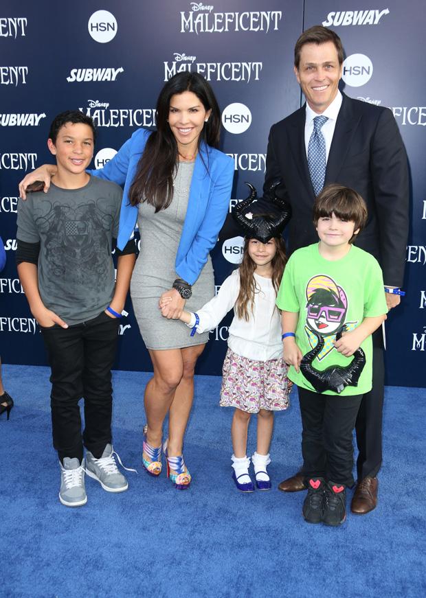 Patrick Whitesell, Lauren Sanchez, Kids