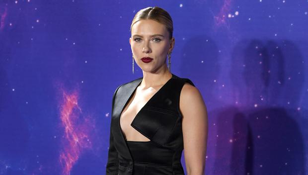 Scarlett Johansson Risks Wardrobe Malfunction At 'Endgame' Screening