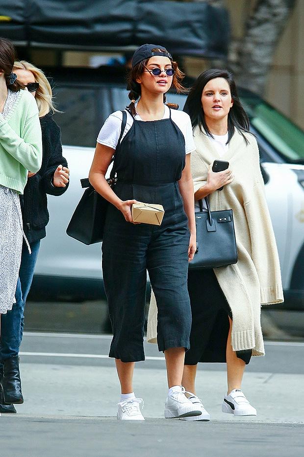 Selena Gomez Overalls