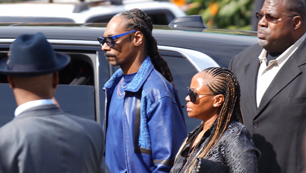 Snoop Dogg Nipsey Hussle Memorial
