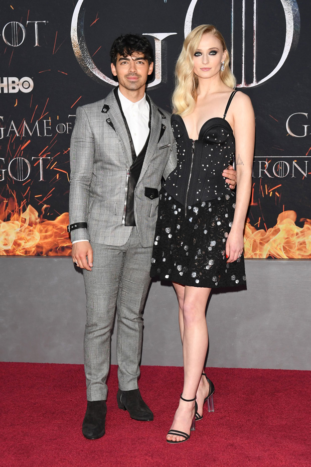 Joe Jonas Sophie Turner Game of Thrones