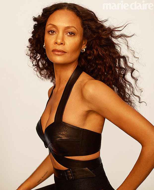 Thandie Newton Marie Claire may cover