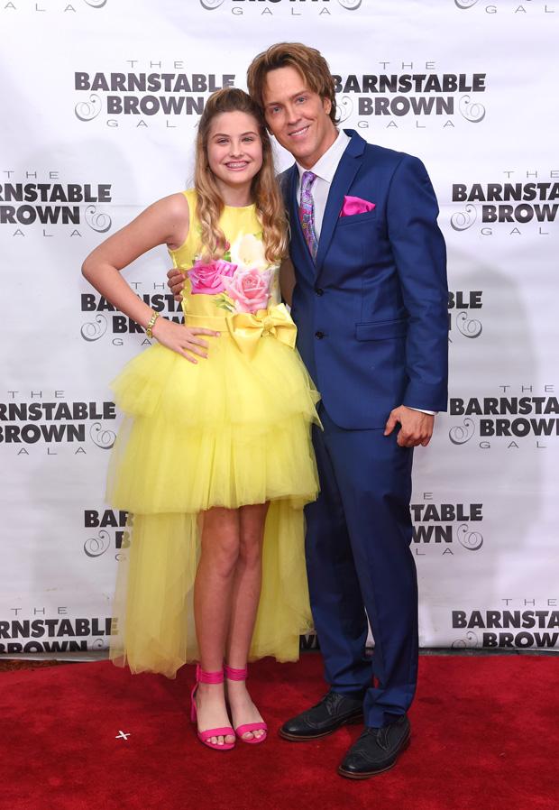 Dannielynn Birkhead and Larry Birkhead 31st Barnstable Brown Kentucky Derby Eve Gala, Arrivals, Louisville, USA - 03 May 2019