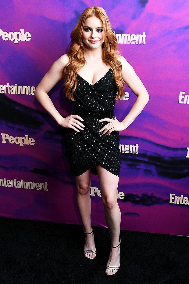Ariel Winter Black Dress Upfronts
