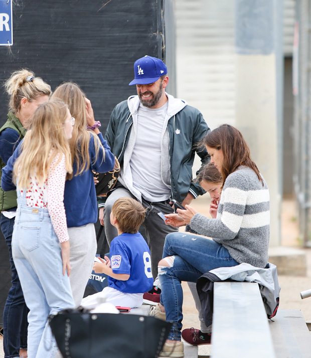 Ben Affleck, Jennifer Garner and their kids