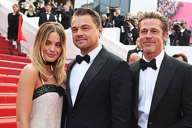 Brad Pitt Leonardo DiCaprio Cannes Film Festival