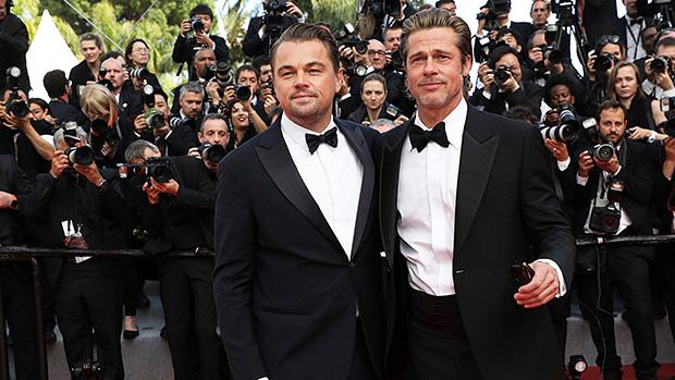 Brad Pitt Leonardo DiCaprio Cannes