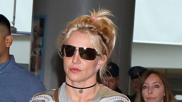 Britney Spears Barefoot