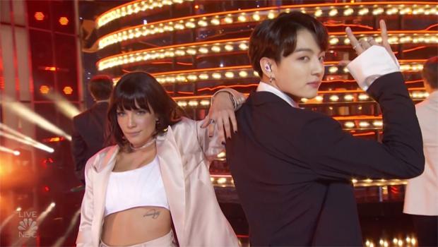 Halsey BTS Billboard Awards 2019