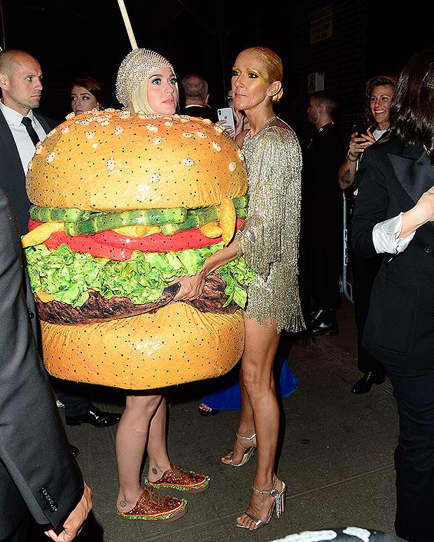 Katy Perry Celine Dion Met Gala
