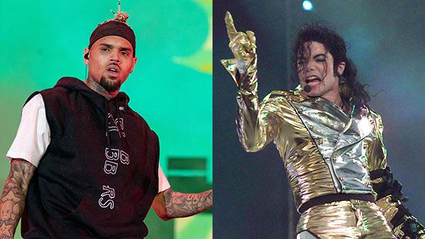 Chris Brown Michael Jackson Post