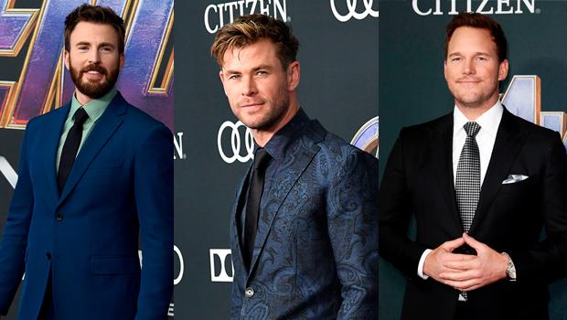 Chris Evans, Chris Hemsworth, Chris Pratt