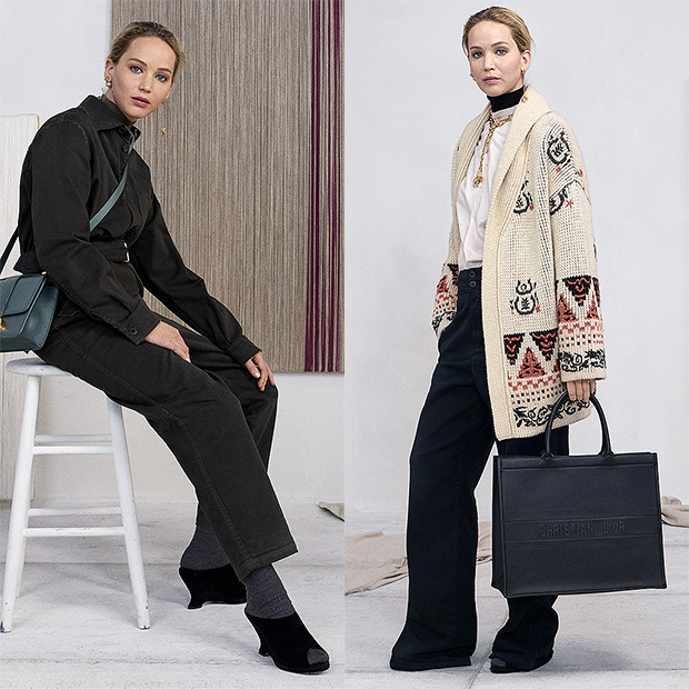 Jennifer Lawrence Dior Campaign