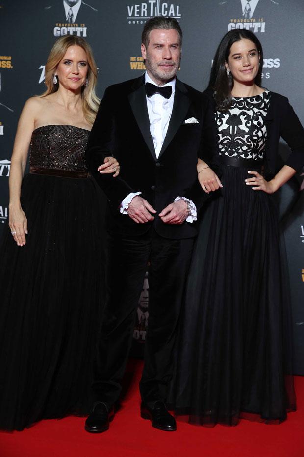 John Travolta, Kelly Preston, Ella Travolta