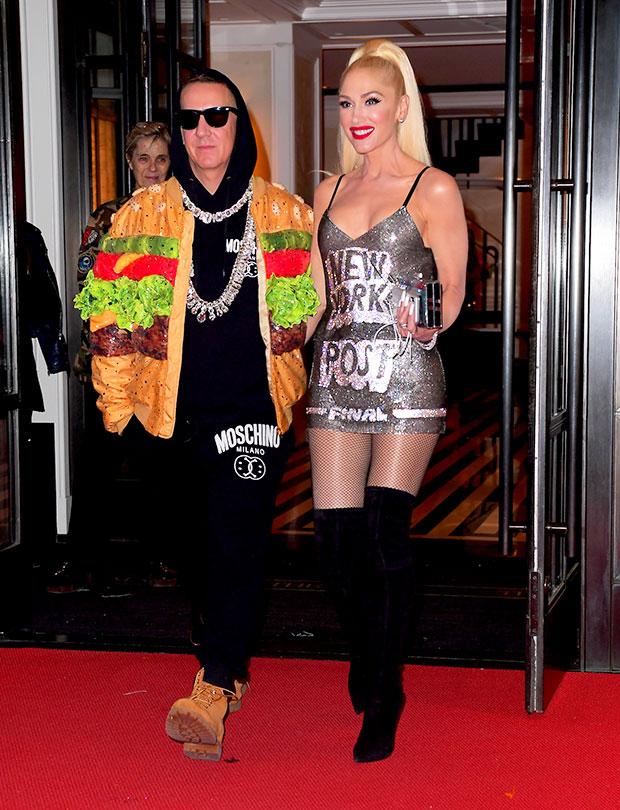 Gwen Stefani Jeremy Scott Met Gala after party