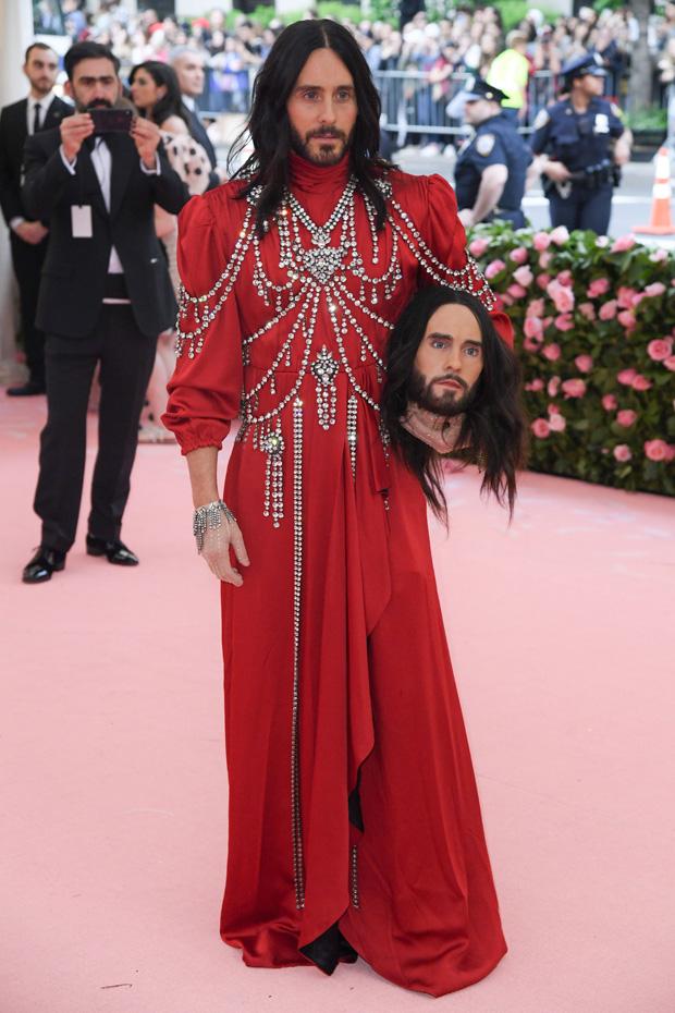 Jared Leto Outfit Met Gala 2019