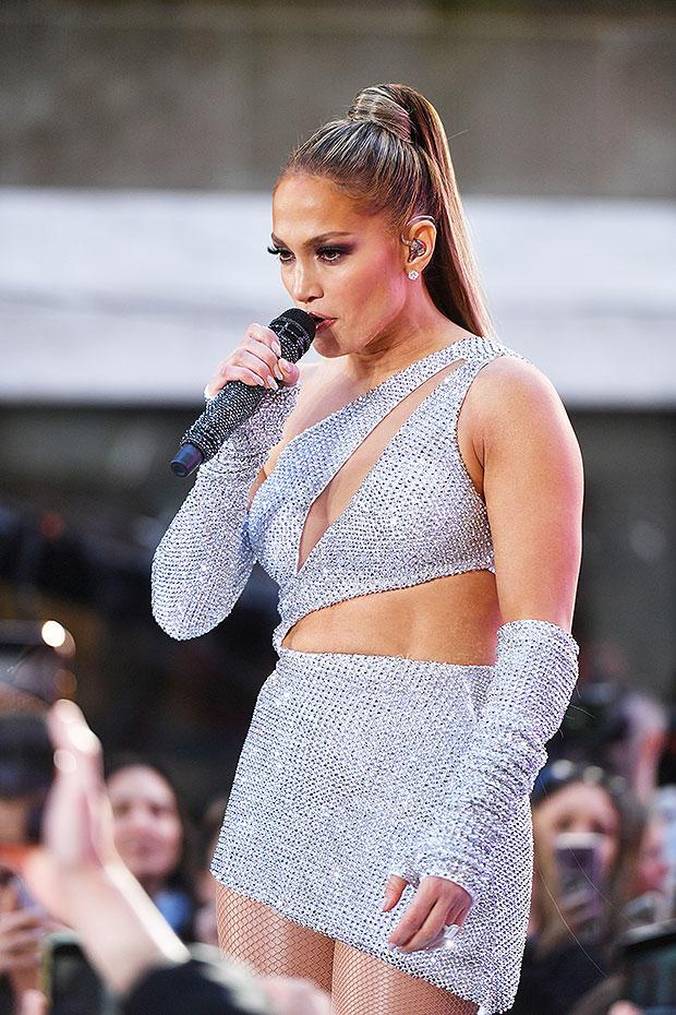 Jennifer Lopez Today show
