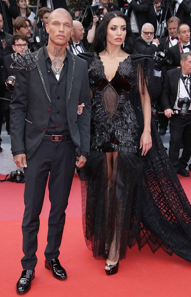 Jeremy Meeks & Andreea Sasu Cannes Film Festival 2019