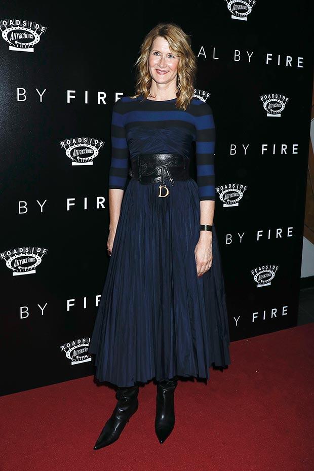 Laura Dern 'Trial By Fire' Premiere