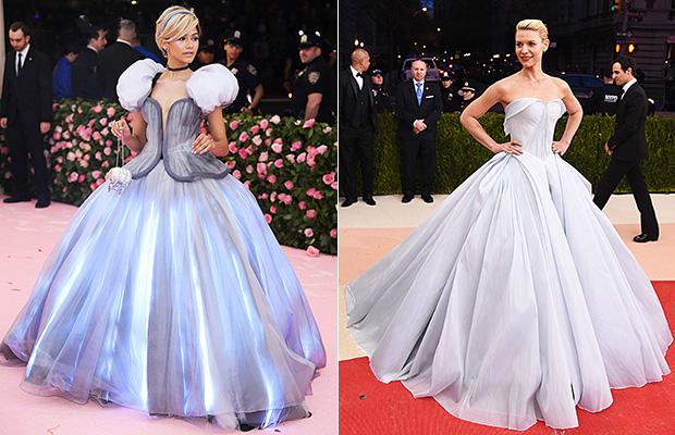 Zendaya Claire Danes Cinderella Dress