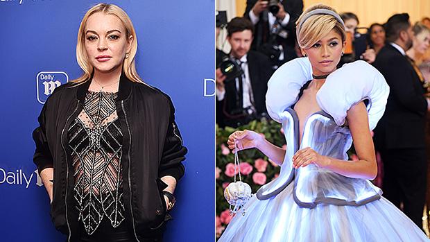 Lindsay Lohan Disses Zendaya