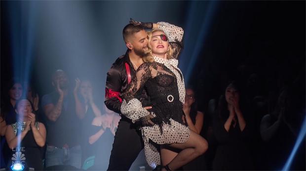 Maluma & Madonna Billboard Awards 2019