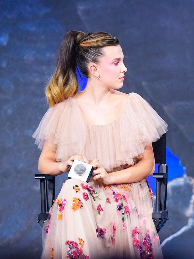 Millie Bobby Brown Hair Makeover